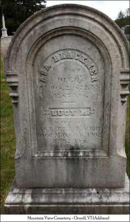 BLACKMER, LUCY M - Addison County, Vermont   LUCY M BLACKMER - Vermont Gravestone Photos