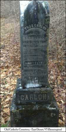 CARLON, THOMAS - Bennington County, Vermont   THOMAS CARLON - Vermont Gravestone Photos