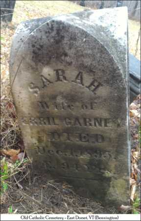 CARNEY, SARAH - Bennington County, Vermont | SARAH CARNEY - Vermont Gravestone Photos