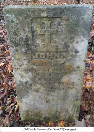 DACY, JOHN - Bennington County, Vermont | JOHN DACY - Vermont Gravestone Photos