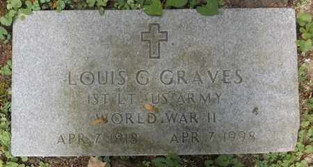 GRAVES(VETERAN WWII), LOUIS G - Bennington County, Vermont | LOUIS G GRAVES(VETERAN WWII) - Vermont Gravestone Photos