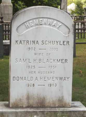 HEMENWAY, DONALD A - Bennington County, Vermont | DONALD A HEMENWAY - Vermont Gravestone Photos