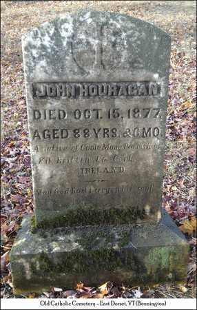 HOURAGAN, JOHN - Bennington County, Vermont   JOHN HOURAGAN - Vermont Gravestone Photos