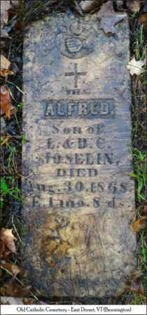 JOSELIN, ALFRED - Bennington County, Vermont   ALFRED JOSELIN - Vermont Gravestone Photos