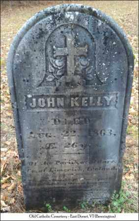 KELLY, JOHN - Bennington County, Vermont | JOHN KELLY - Vermont Gravestone Photos