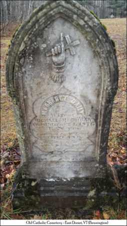 MCGUIGAN, MARGARET - Bennington County, Vermont   MARGARET MCGUIGAN - Vermont Gravestone Photos