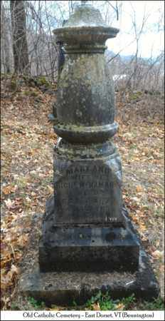 MCNAMARA, MARY ANN - Bennington County, Vermont | MARY ANN MCNAMARA - Vermont Gravestone Photos