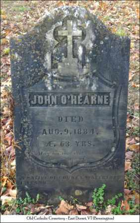 O'HEARNE, JOHN - Bennington County, Vermont   JOHN O'HEARNE - Vermont Gravestone Photos