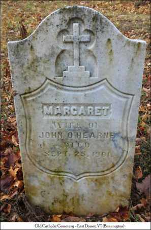 O'HEARNE, MARGARET - Bennington County, Vermont | MARGARET O'HEARNE - Vermont Gravestone Photos