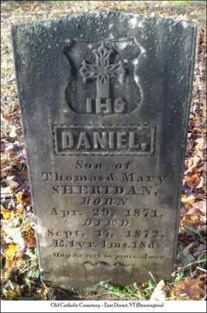 SHERIDAN, DANIEL - Bennington County, Vermont | DANIEL SHERIDAN - Vermont Gravestone Photos