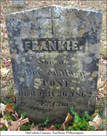 STONE, FRANKIE - Bennington County, Vermont | FRANKIE STONE - Vermont Gravestone Photos