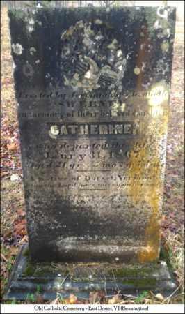SWEENEY, CATHERINE - Bennington County, Vermont | CATHERINE SWEENEY - Vermont Gravestone Photos