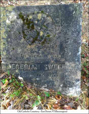 SWEENEY, JEREMIAH - Bennington County, Vermont | JEREMIAH SWEENEY - Vermont Gravestone Photos