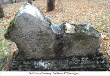 TULLLY, FRANCIS - Bennington County, Vermont | FRANCIS TULLLY - Vermont Gravestone Photos