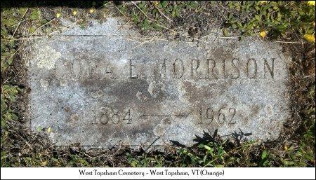 MORRISON HUTCHINS, CORA ELLEN - Orange County, Vermont | CORA ELLEN MORRISON HUTCHINS - Vermont Gravestone Photos