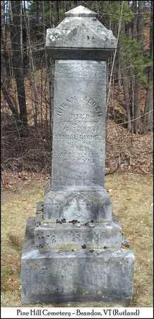 BURNELL ALDEN, ABIGAL - Rutland County, Vermont | ABIGAL BURNELL ALDEN - Vermont Gravestone Photos
