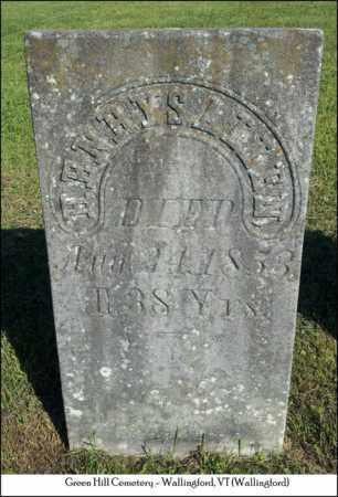 ALLEN, HENRY S. - Rutland County, Vermont   HENRY S. ALLEN - Vermont Gravestone Photos