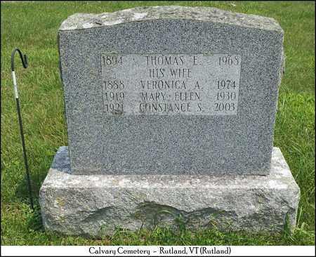BARRETT, THOMAS E. - Rutland County, Vermont | THOMAS E. BARRETT - Vermont Gravestone Photos