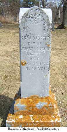 BASSETT, ARBA - Rutland County, Vermont | ARBA BASSETT - Vermont Gravestone Photos