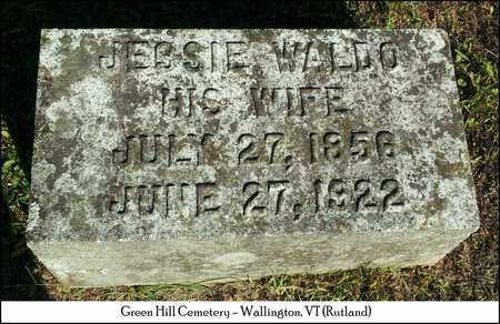 WALDO BATCHELLER, JESSIE - Rutland County, Vermont | JESSIE WALDO BATCHELLER - Vermont Gravestone Photos