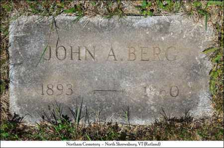BERG, JOHN ALBIN - Rutland County, Vermont | JOHN ALBIN BERG - Vermont Gravestone Photos
