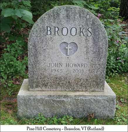 BROOKS, JOHN HOWARD - Rutland County, Vermont | JOHN HOWARD BROOKS - Vermont Gravestone Photos