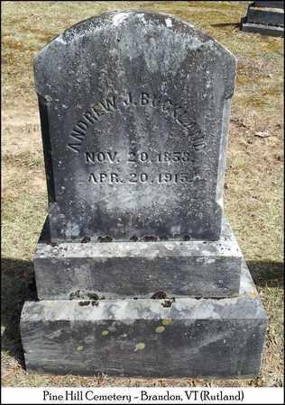 BUCKLAND, ANDREW J. - Rutland County, Vermont | ANDREW J. BUCKLAND - Vermont Gravestone Photos