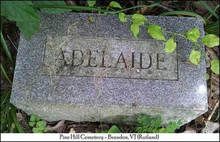 BUTTON, ADELAIDE M. - Rutland County, Vermont | ADELAIDE M. BUTTON - Vermont Gravestone Photos