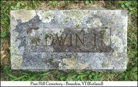 BUTTON, EDWIN H. - Rutland County, Vermont | EDWIN H. BUTTON - Vermont Gravestone Photos