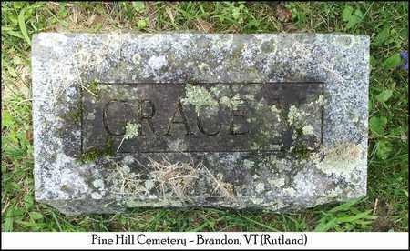 BUTTON, GRACE VAIL - Rutland County, Vermont   GRACE VAIL BUTTON - Vermont Gravestone Photos
