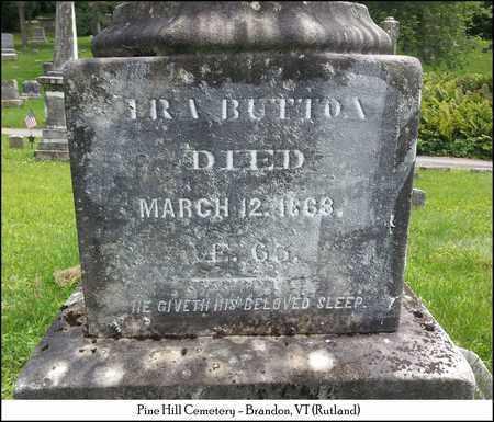 BUTTON, IRA DANIEL - Rutland County, Vermont | IRA DANIEL BUTTON - Vermont Gravestone Photos
