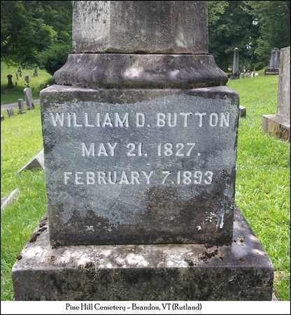 BUTTON, WILLIAM DANIEL - Rutland County, Vermont | WILLIAM DANIEL BUTTON - Vermont Gravestone Photos