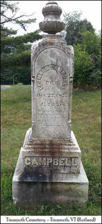 CAMPBELL, LEONARD - Rutland County, Vermont | LEONARD CAMPBELL - Vermont Gravestone Photos