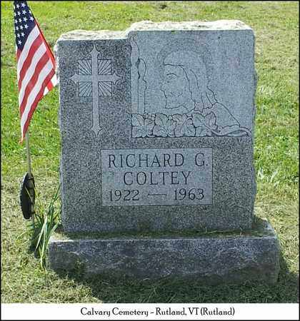 COLTEY, RICHARD GLENN - Rutland County, Vermont | RICHARD GLENN COLTEY - Vermont Gravestone Photos