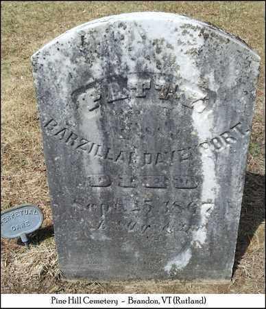 SIMONS DAVENPORT, POLLY (PATTY) - Rutland County, Vermont | POLLY (PATTY) SIMONS DAVENPORT - Vermont Gravestone Photos