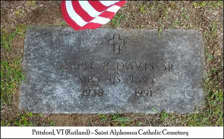 DAVIS, KENT P. - Rutland County, Vermont   KENT P. DAVIS - Vermont Gravestone Photos