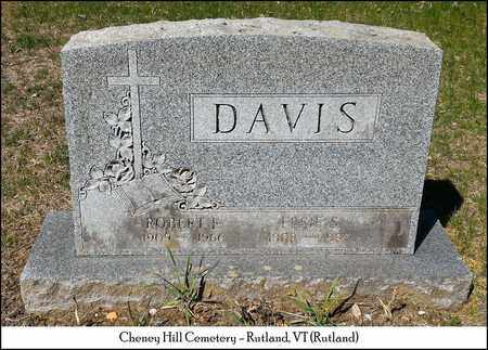 DAVIS, ELSIE S. - Rutland County, Vermont | ELSIE S. DAVIS - Vermont Gravestone Photos
