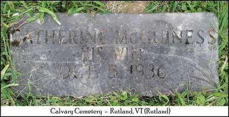 MCGUINESS DUGAN, CATHERINE - Rutland County, Vermont | CATHERINE MCGUINESS DUGAN - Vermont Gravestone Photos