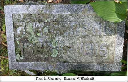 "FERSON, BURTON WATSON ""BERT"" - Rutland County, Vermont | BURTON WATSON ""BERT"" FERSON - Vermont Gravestone Photos"