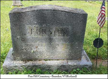 FERSON, REGINALD B. - Rutland County, Vermont   REGINALD B. FERSON - Vermont Gravestone Photos