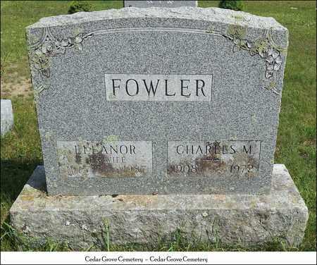 FOWLER, CHARLES M. - Rutland County, Vermont | CHARLES M. FOWLER - Vermont Gravestone Photos
