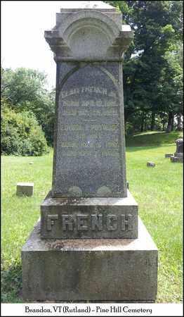 FRENCH, ELAM - Rutland County, Vermont   ELAM FRENCH - Vermont Gravestone Photos