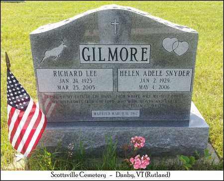 GILMORE, RICHARD LEE - Rutland County, Vermont | RICHARD LEE GILMORE - Vermont Gravestone Photos
