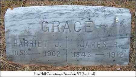 LEMAN GRACE, HARRIET - Rutland County, Vermont   HARRIET LEMAN GRACE - Vermont Gravestone Photos