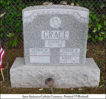 GRACE, EVELYN - Rutland County, Vermont | EVELYN GRACE - Vermont Gravestone Photos