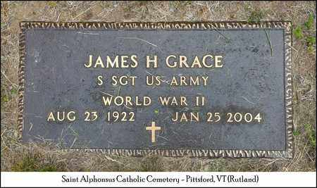 GRACE, JAMES H. - Rutland County, Vermont | JAMES H. GRACE - Vermont Gravestone Photos