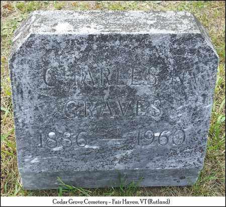 GRAVES, CHARLES NELSON - Rutland County, Vermont | CHARLES NELSON GRAVES - Vermont Gravestone Photos