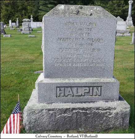 HALPIN, JOHN - Rutland County, Vermont | JOHN HALPIN - Vermont Gravestone Photos