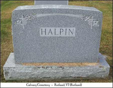 HALPIN, JOHN & YVONNE - Rutland County, Vermont | JOHN & YVONNE HALPIN - Vermont Gravestone Photos