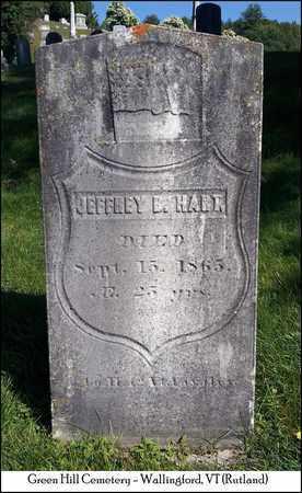 HART, JEFFREY B. - Rutland County, Vermont | JEFFREY B. HART - Vermont Gravestone Photos